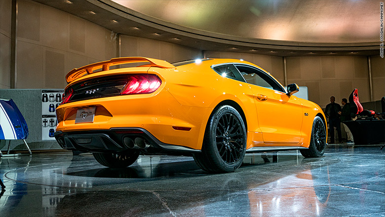 Ford Adds A Mute Button For The Mustangs Noisy V8