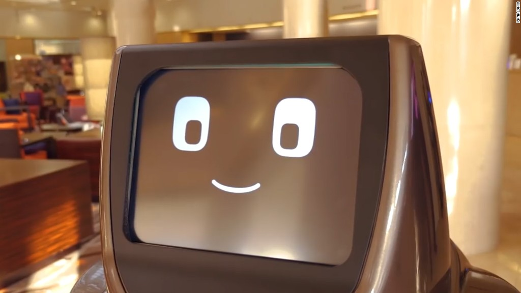 Panasonic's hospitality robot will wait on you