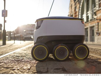 Robot deliveries are about to hit U S  streets