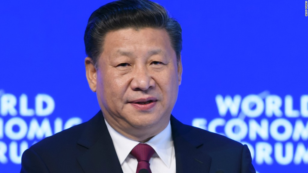 China's president: A cheerleader for globalization