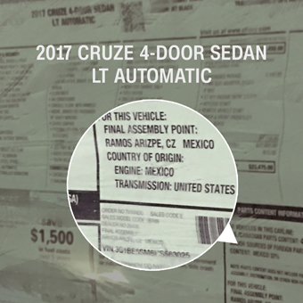 Trump was right about Mexican-made GM cars