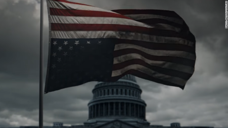 house of cards flag