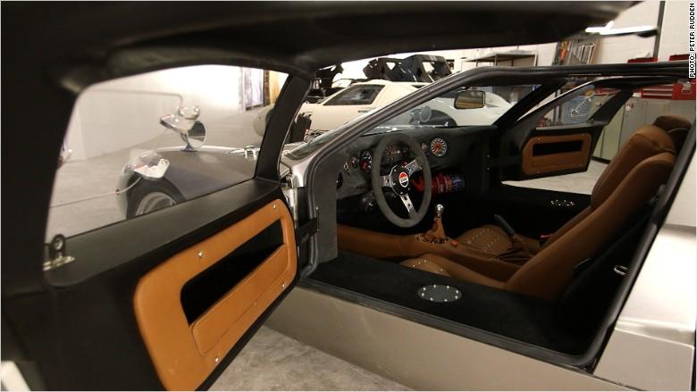 ford gt40 interior