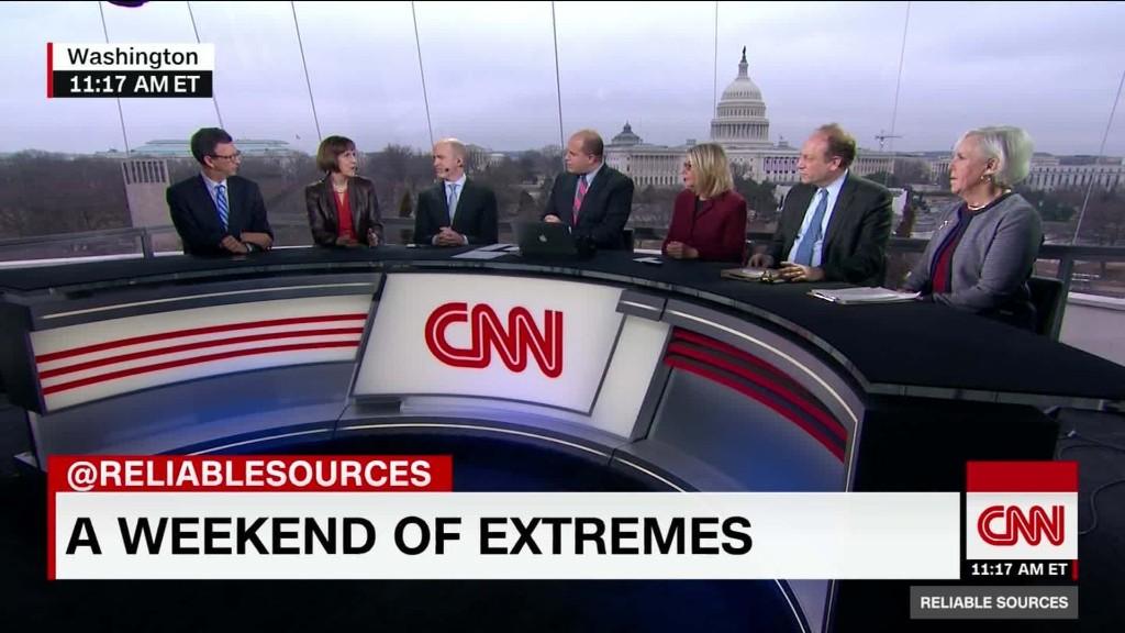 "Reporters rebuff talk of a ""boycott"""