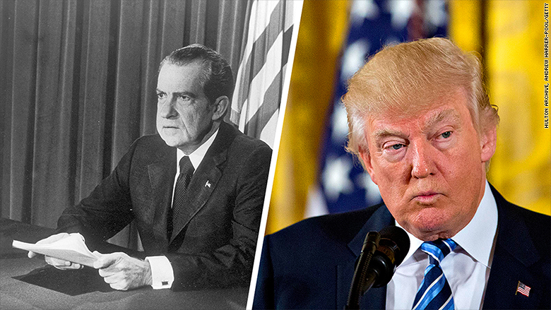 presidential tax returns  it started with nixon  will it