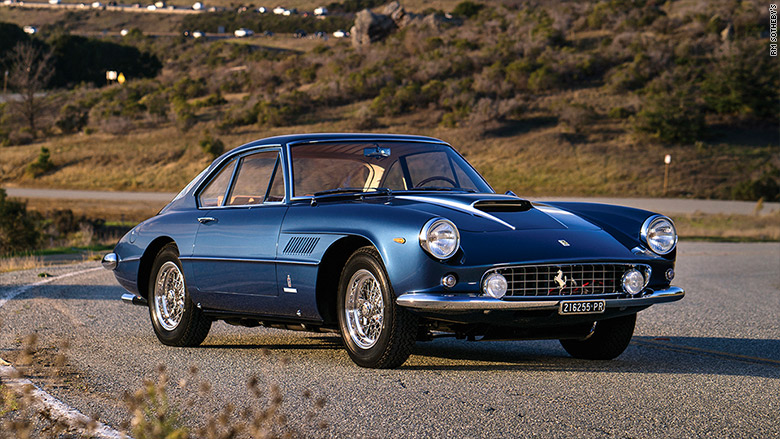 1961 Ferrari 400 Superamerica Coupe Most Expensive Cars From The