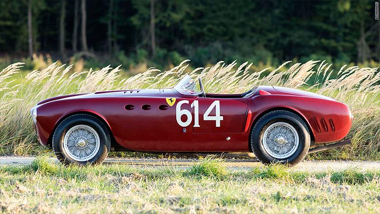 1952 Ferrari 340 America Competizione Spider - Most expensive cars ...