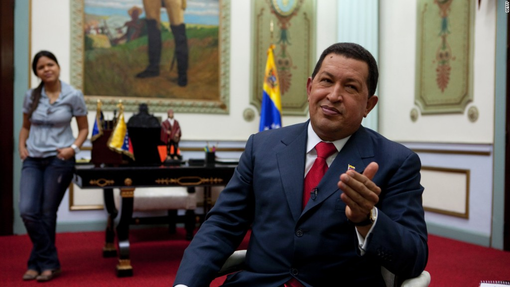 The first Twitter president: Hugo Chavez