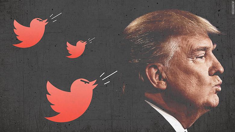 trump angry tweets
