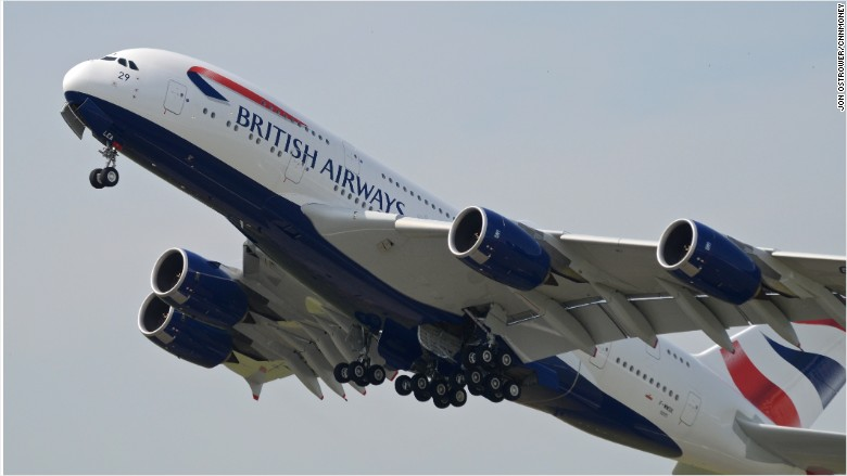 british airways airbus a380 superjumbo