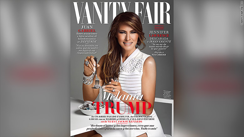 melania trump vanity fair mexico