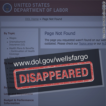 Elizabeth Warren asks why federal Wells Fargo complaint site