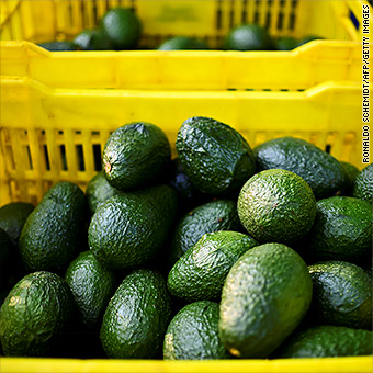 Guess where all those avocados come from