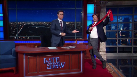 Trump bump? Colbert's 'Late Show' beats Fallon for first time since premiere week