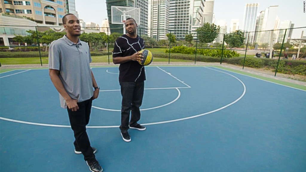 U.S. basketball players are stranded in Dubai