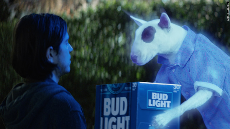 Spuds mackenzie is coming back for bud light super bowl ad bud light super bowl 2017 2 mozeypictures Gallery