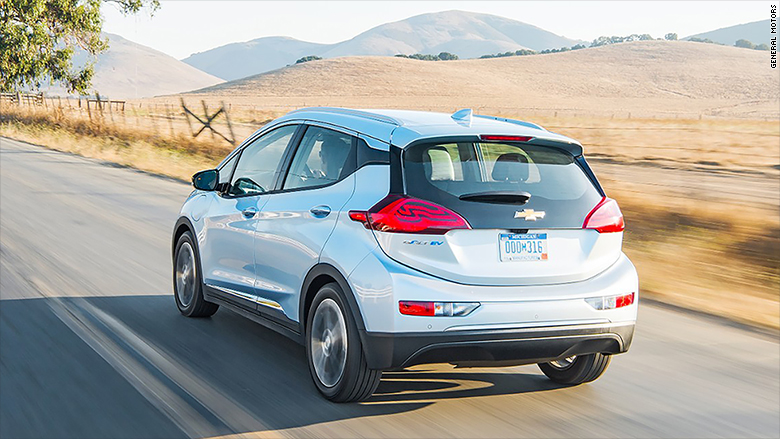 chevrolet bolt ev rear