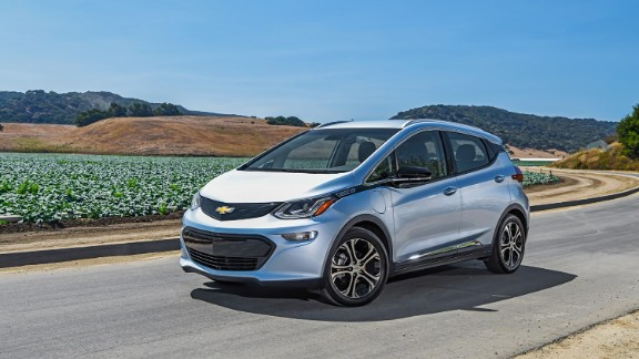 Chevy Bolt named Best Small EV by Consumer Reports