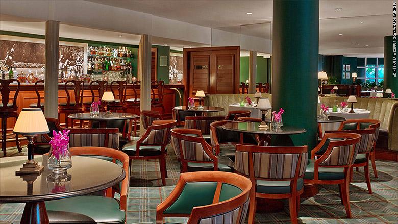 coolest hotel bar polo lounge bar 2017