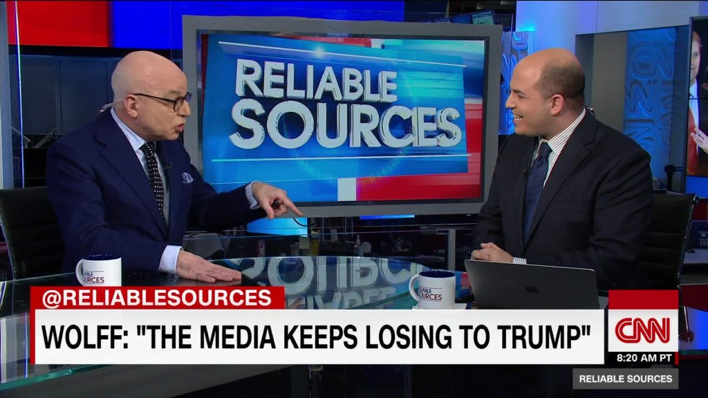 Wolff: Media tries to 'take Trump down'