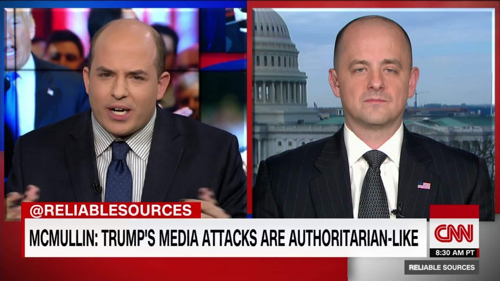 McMullin on Trump's authoritarian style