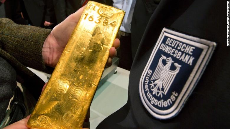 Germany gold bar