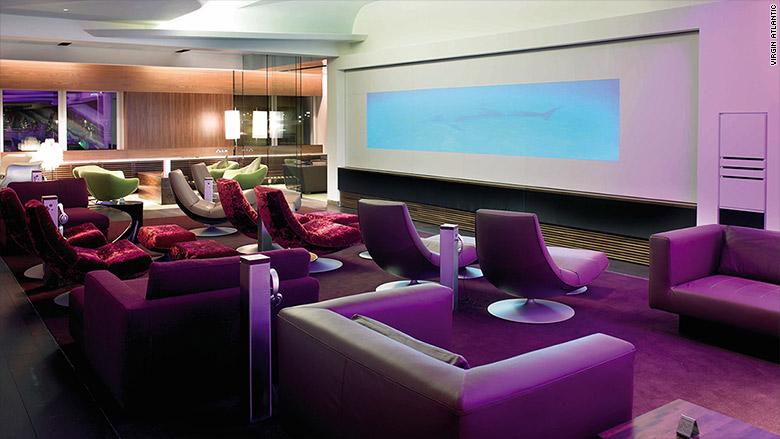 best airport lounges virgin atlantic london