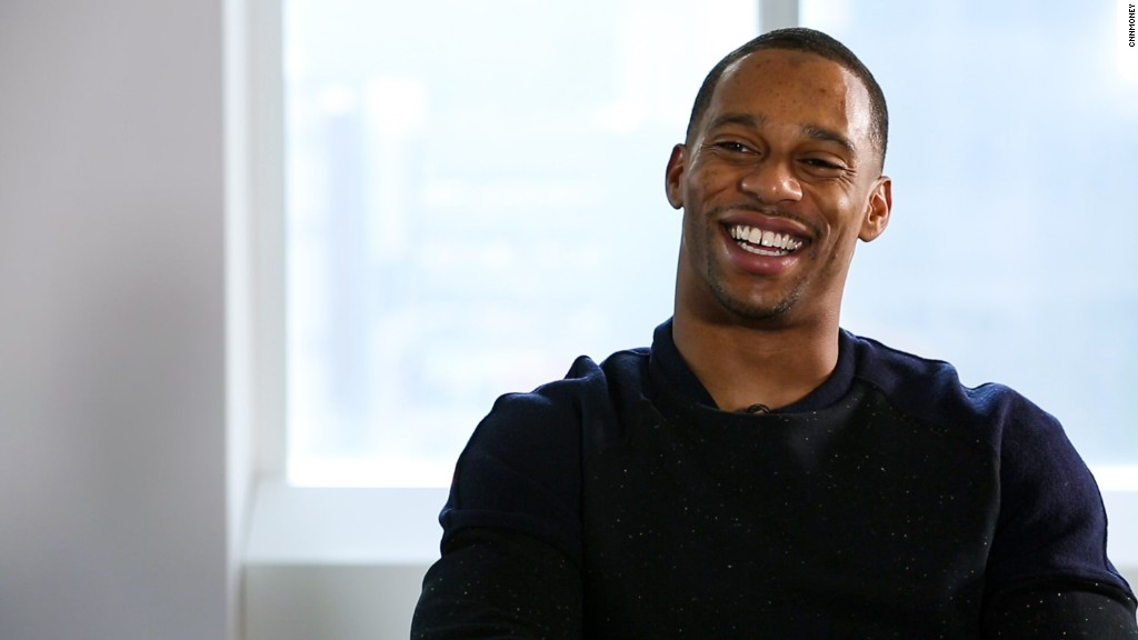 Victor Cruz has money advice for professional athletes