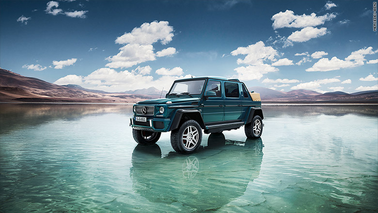 mercedes maybach g650 front