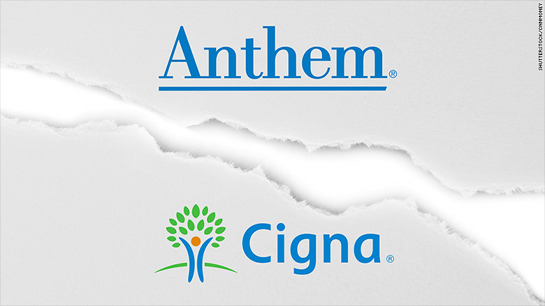 anthem cigna breakup