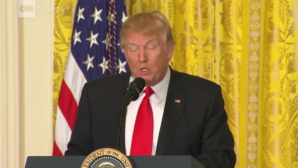 President Trump lashes out at media in press conference