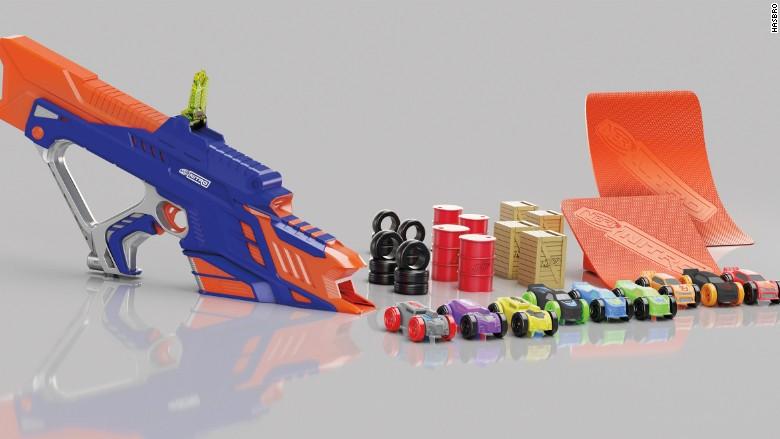 toy fair nerf nitro