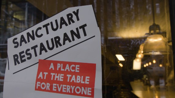 Sanctuary restaurants vow to protect undocumented workers