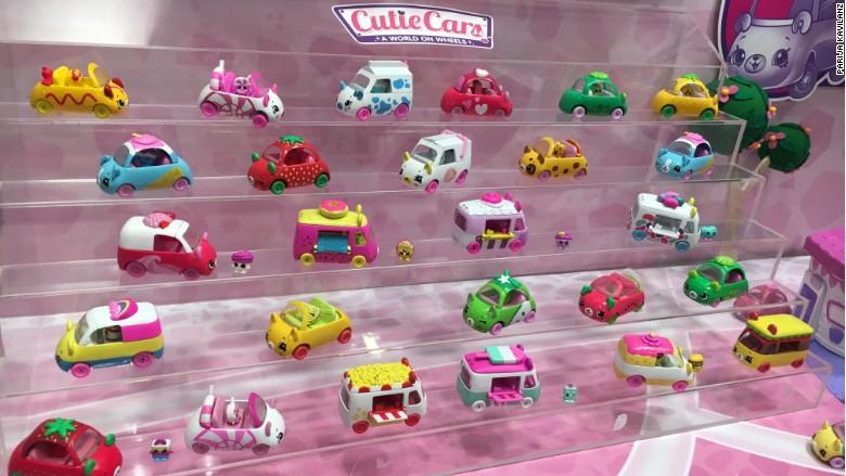 Mini Shopkins Get Their Own Cute Cars Toy Fair 2017 Surfaces Holograms Robotic Animals And Buddy Dolls For Boys Cnnmoney