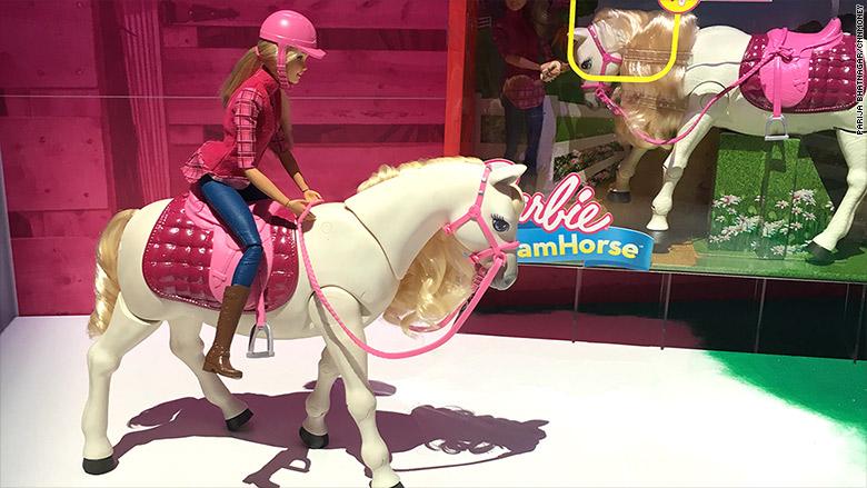 toy barbie horse