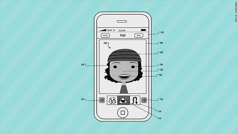 apple patents avatar creator