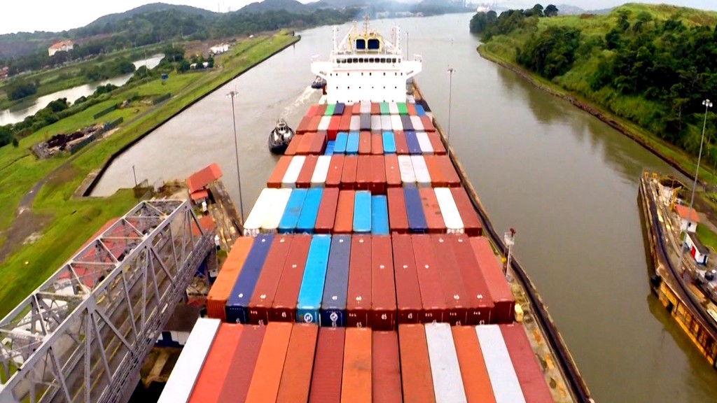 How to get 60,000 containers around the world in record time
