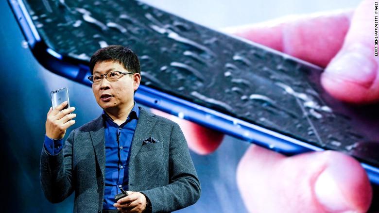 Huawei P10 Richard Yu MWC