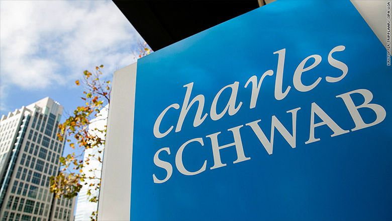 Schwab cuts online trade commissions