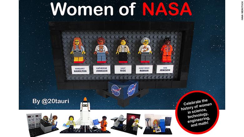 Lego women 1