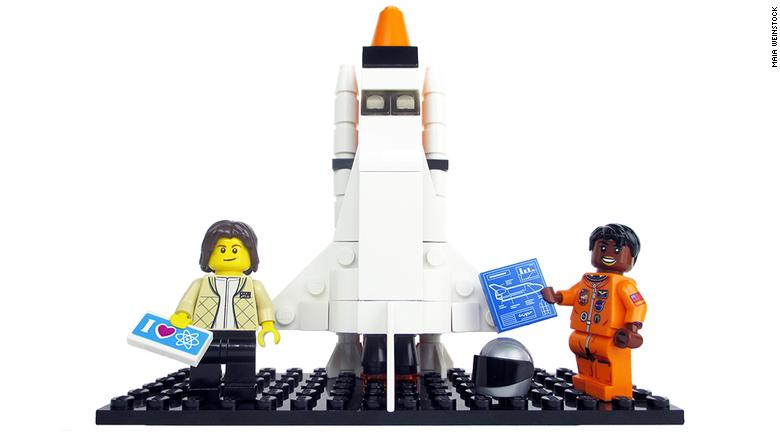Lego women 3