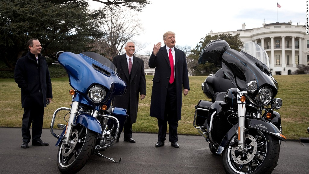Harley-Davidson Expects Motorcycle Tariffs to Cut Into Margins