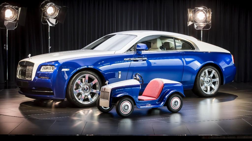 Rolls Royce Makes A Mini Rolls For Sick Kids