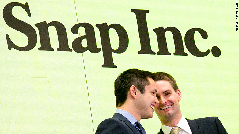 snap inc nyse bell