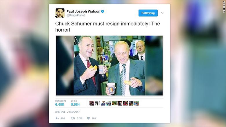 schumer tweet resign