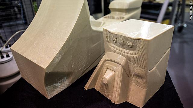 3d printing metal car parts