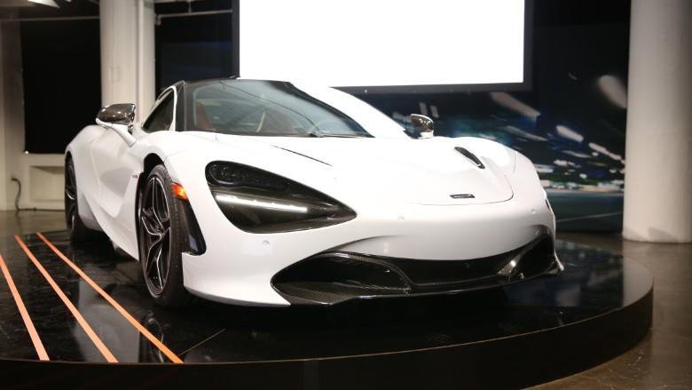 McLaren unveils second-generation supercar
