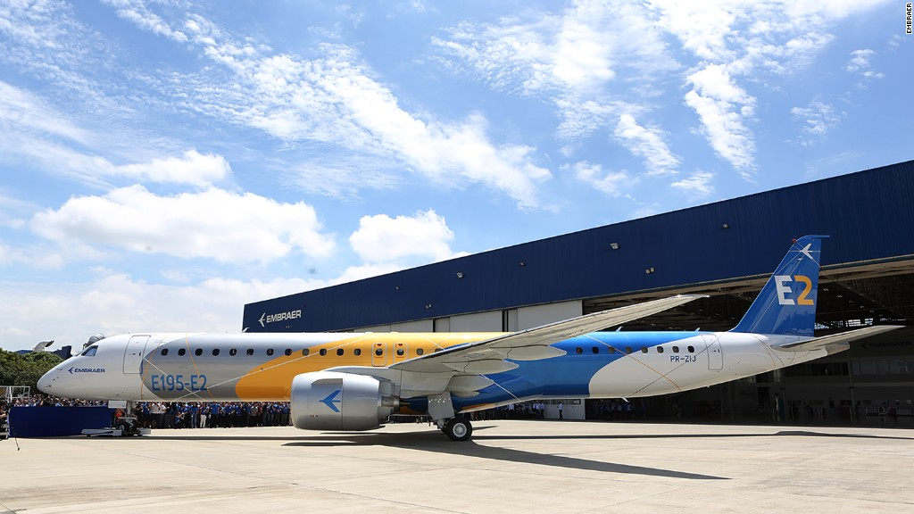 Embraer Chief: Brazilian government doesn't affect us