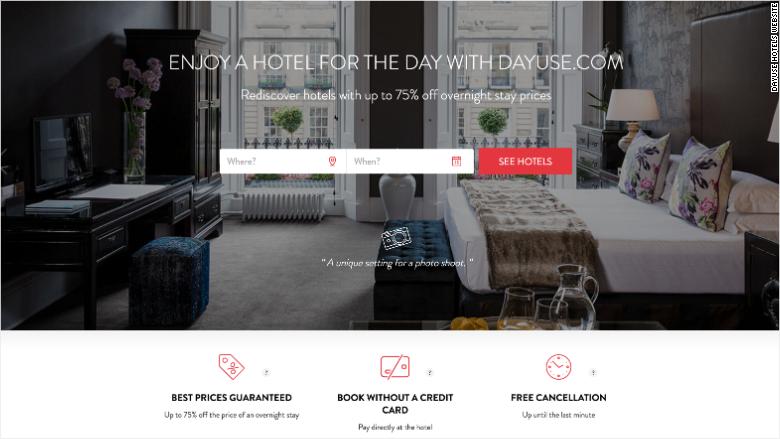 Dayuse Hotels Website