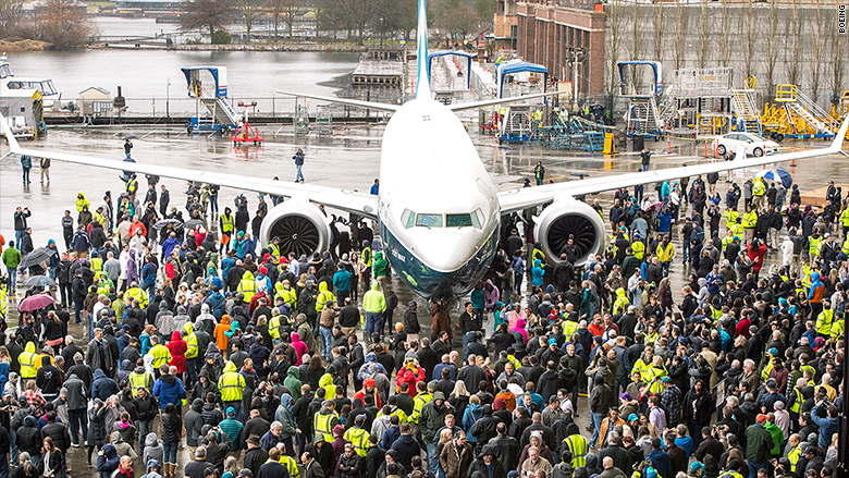 boeing 737 max roll out 2